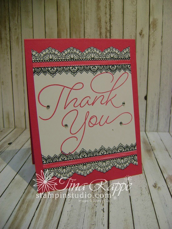 Stampin' Up! So Very Much stamp set, Delicate Details stamp set, Sale-a-bration 2017, Stampin' Studio