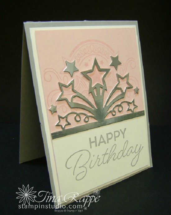 Birthday Card Created With The Blast Bundle