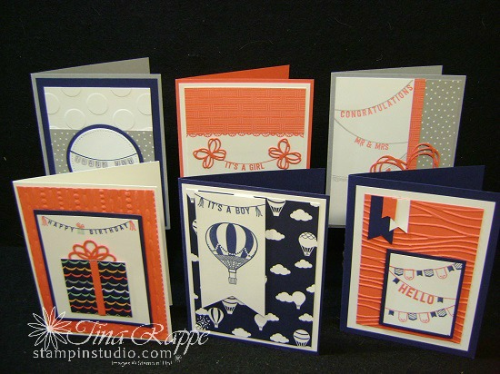 Stampin' Sisters Retreat, Stampin' Up! Any Occasions stamp set, Sale-a-bration 2017, Stampin' Studio