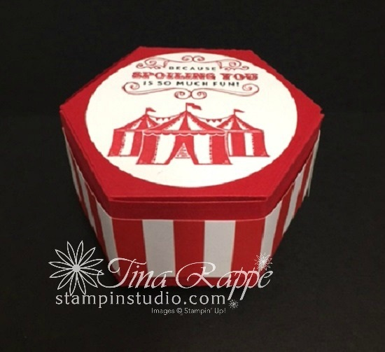 Stampin' Sisters Retreat, Sunday Morning Circus Box Surprise,  Stampin' Studio