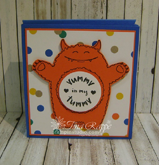 Stampin' Sisters Retreat, Stampin' Up! Yummy in my Tummy stamp set, Gift Card Holders, Stampin' Studio