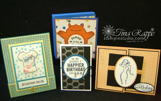 Stampin' Sisters Retreat, Stampin' Up! Gift Card Holders, Stampin' Studio