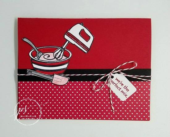 Stampin' Up! Perfect Mix stamp set, Sending Love Designer SEries Paper Stack, Stampin' Studio