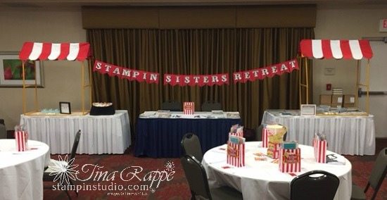 Stampin' Sisters retreat Banner