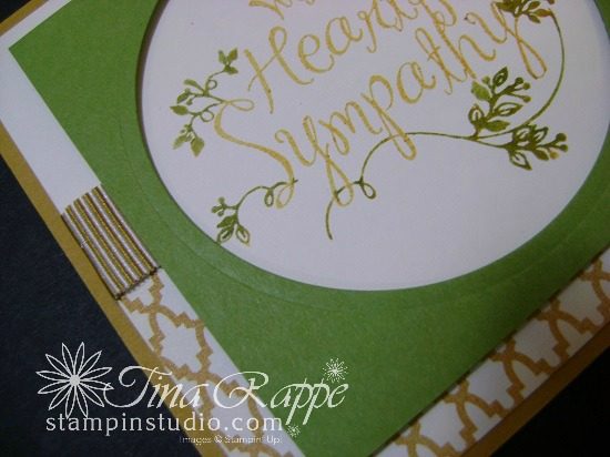 Stampin' Up! Heartfelt Sympathy stamp set, Stampin' Studio