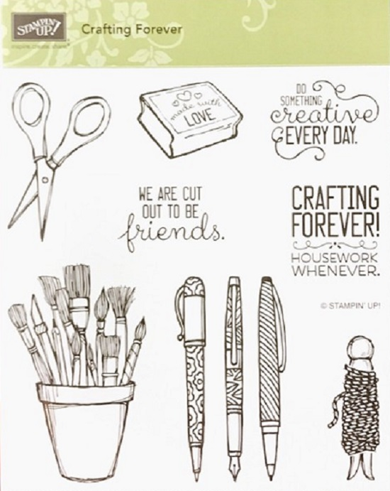 Stampin' Up! Crafting Forever stamp set, Stampin' Studio