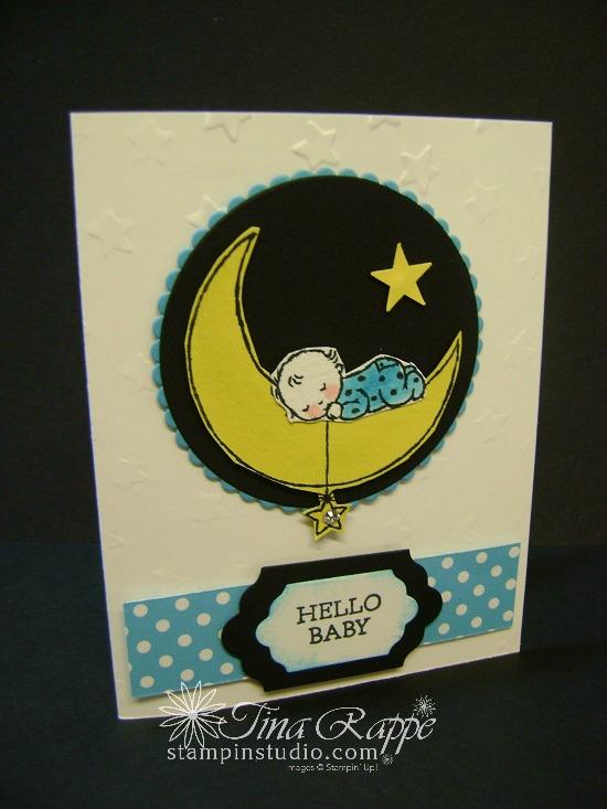 Stampin' Up! Moon Baby stamp set, Stampin' Studio
