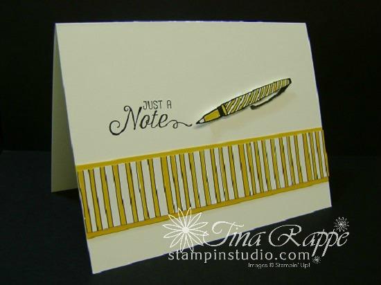 Stampin' Up! Crafting Forever stamp set. Pick a Pattern DSP, Stampin' Studio