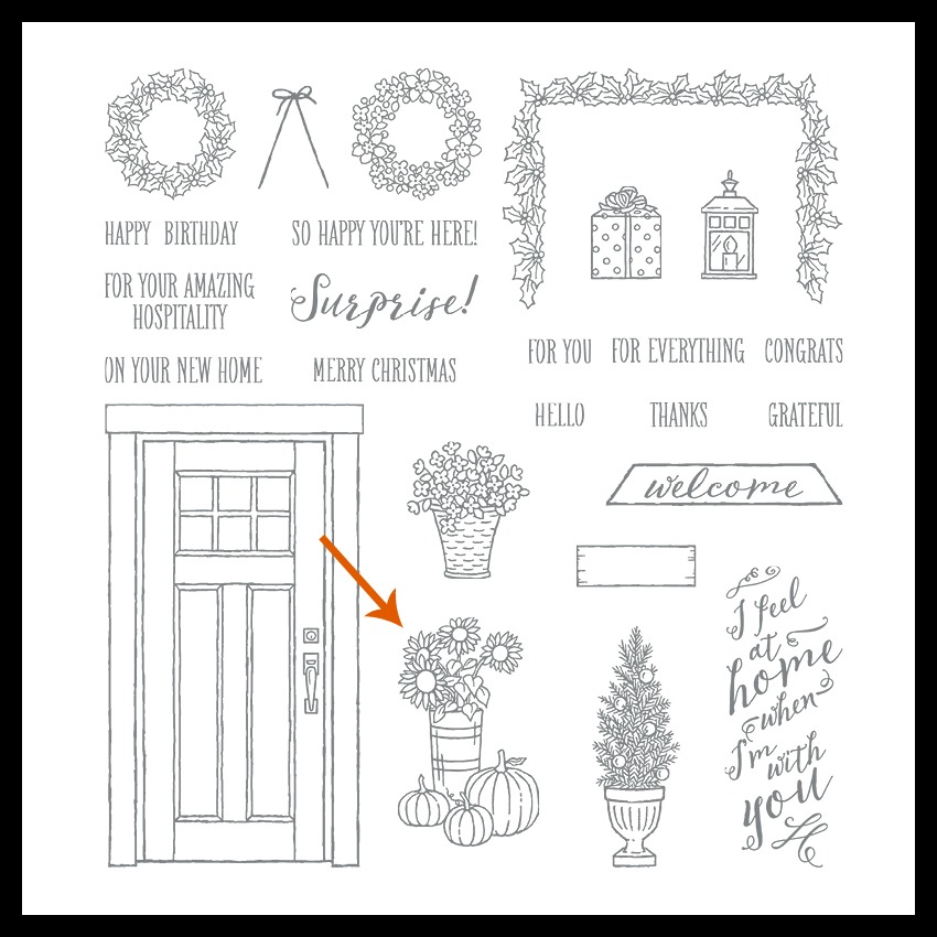 Stampin' Up! At Home With You stamp set, Stampin' Studio