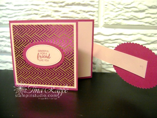 Stampin' Up! Lovely Inside & Out stamp set, Lovely Words Thinlits, Foil Frenzy Specialty Designer Series Paper, Stampin' Studio