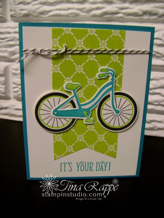 Stampin' Up! Bike Ride Bundle, Bike Ride stamp set, Build a Bike Framelits, Stampin' Studio