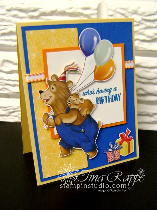 Stampin' Up! Birthday Memories Designer Series Paper, Stampin' Studio