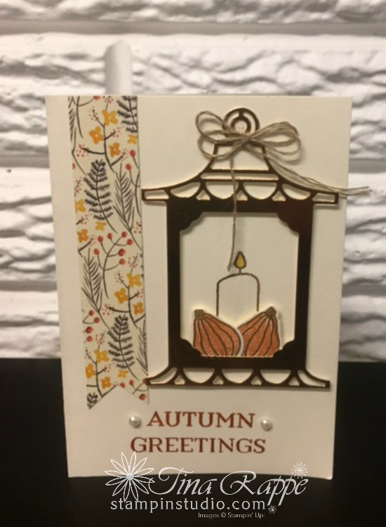 Stampin' Up! Seasonal Lantern Bundle, Stampin' Studio