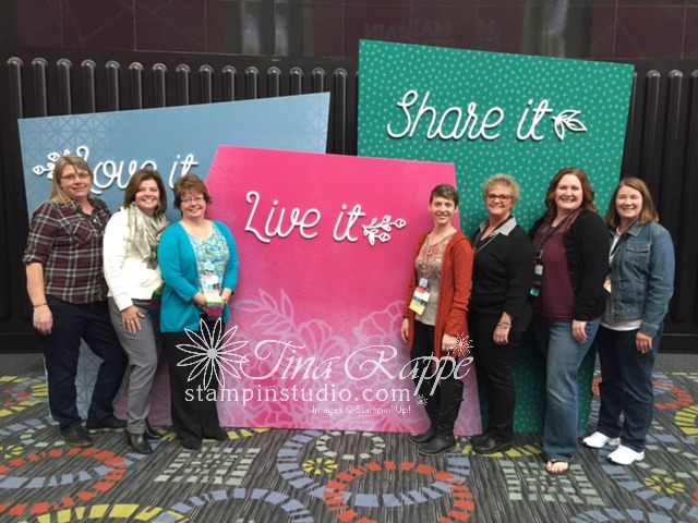 Stampin' Up! On Stage, Team Photo, Stampin' Studio