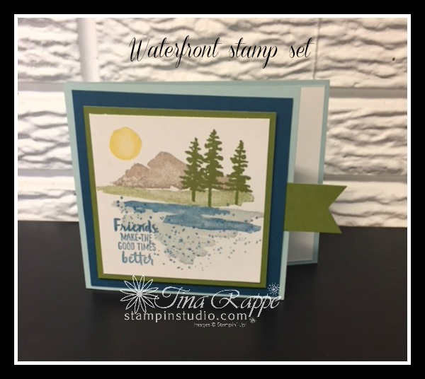 Stampin' Up! Waterfront stamp set, Stampin' Studio