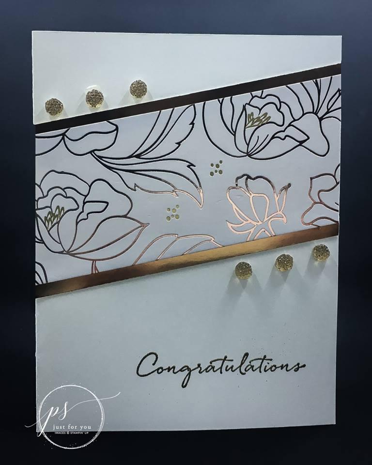 Stampin' Up! Springtime Foils Specialty Designer Series Paper, Stampin' Studio