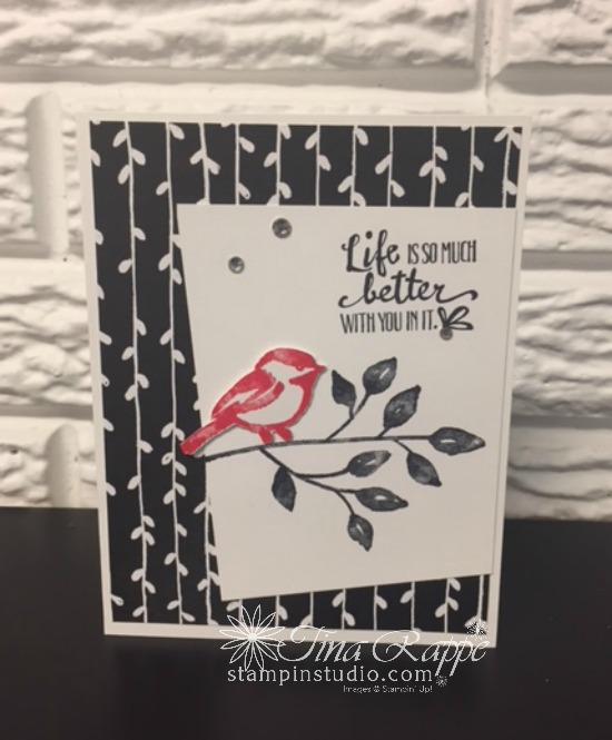 Stampin' Up! Petal Palette stamp set, Stampin' Studio