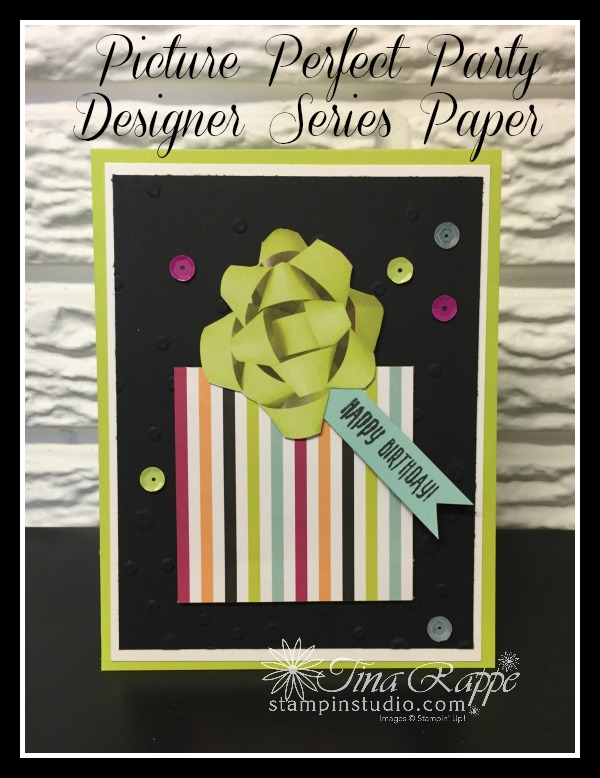 Stampin' Up! Picture Perfect Designer Series Paper, Stampin' Studio