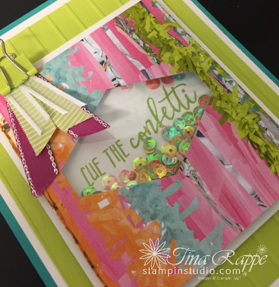 Stampin' Up! Picture Perfect Birthday Shaker Card, Stampin' Studio