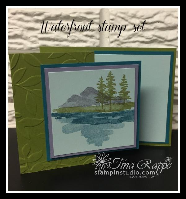 Stampin' Up! Waterfront stamp set, Stampin' Studio