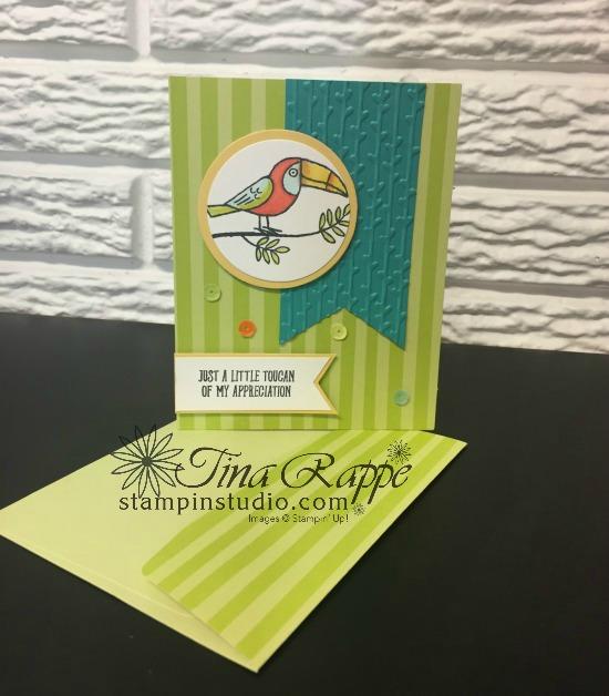 Stampin' Up!, Bird Banter stamp set, Stampin' Sister's Retreat 2018, Stampin' Studio