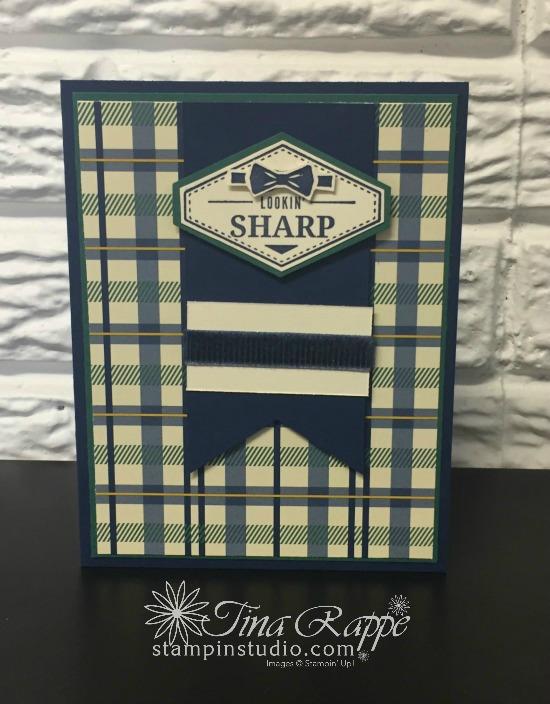 Stampin' Up!, Truly Tailored stamp set, Stampin' Sister's Retreat 2018, Stampin' Studio