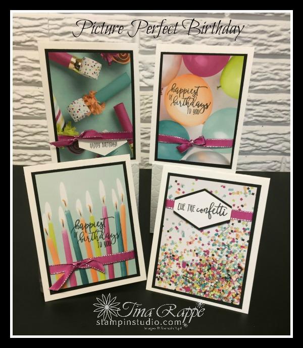Stampin' Up!, Picture Perfect Birthday stamp set, Stampin' Sister's Retreat 2018, Stampin' Studio
