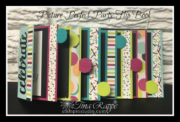 Stampin' Up!, Picture Perfect Party DSP, scrapbook,, Stampin' Sister's Retreat 2018, Stampin' Studio