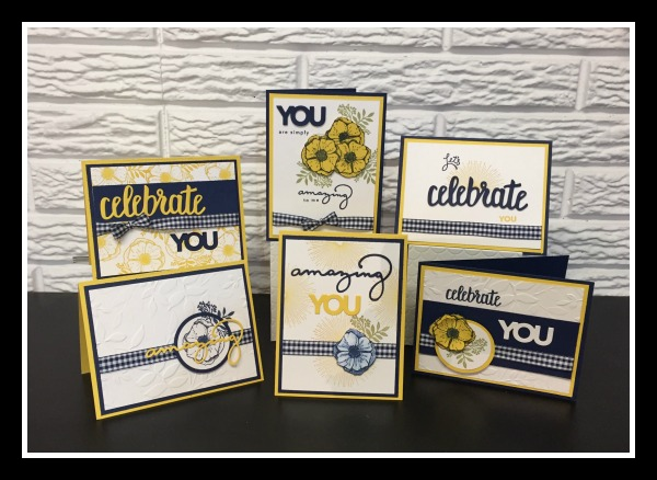 Stampin' Up!, Amazing You stamp set, Celebrate You Thinlits, Stampin' Sister's Retreat 2018, Stampin' Studio