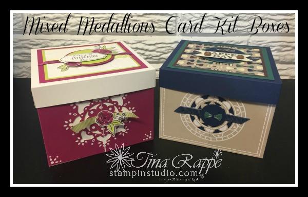Stampin' Up!, Mixed Medallion Card Kit, Stampin' Sister's Retreat 2018, Stampin' Studio