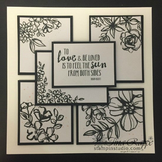 Stampin' Up! Petal Passion Memories & More Card Kit Framed Art, Stampin' Sister's Retreat, Stampin' Studio