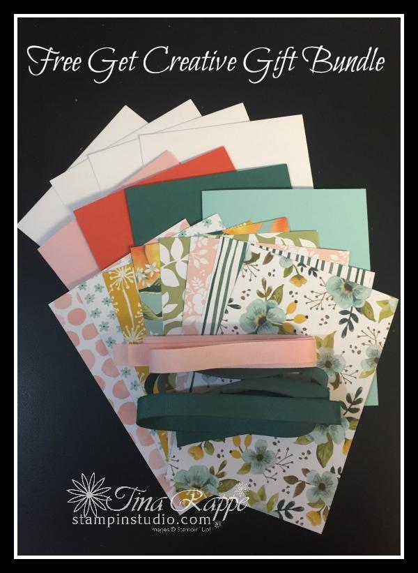 Free Get Creative Gift Bundle, Stampin' Studio