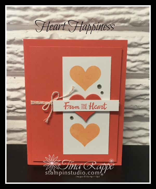 Stampin' Up! Heart Happiness stamp set, Stampin' Studio