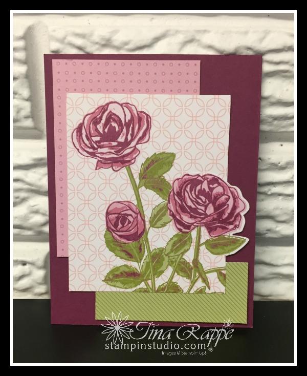 Stampin' Up! Petal Garden Memories & More Card Pack, Stampin' Studio