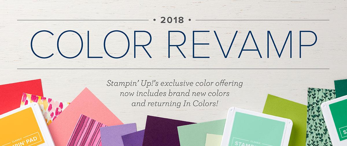 Stampin' Up! Color Revamp, Stampin' Studio