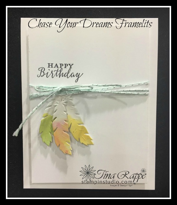 Stampin' Up! Chase Your Dreams Framelits, Detailed with Love stamp set, Stampin' Studio