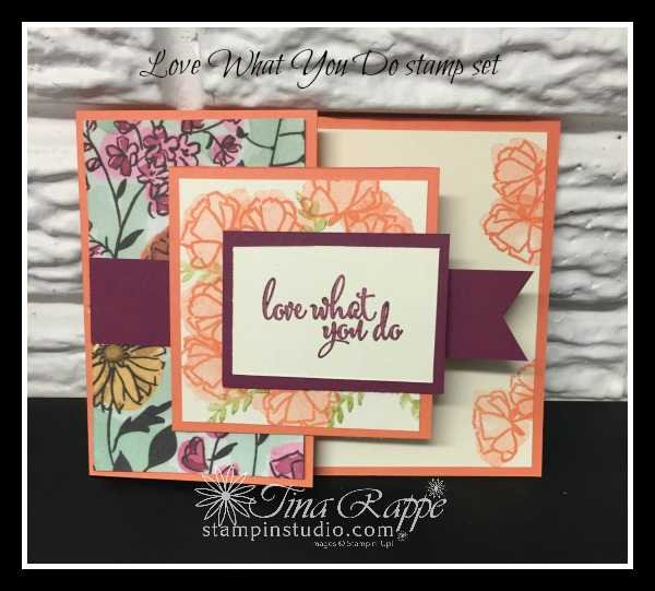 Stampin' Up! Love What You Do stamp set, Stampin' Studio