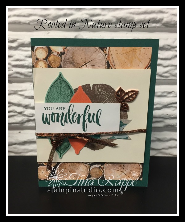 Stampin' Up! Rooted in Nature stamp set, Stampin' Studio