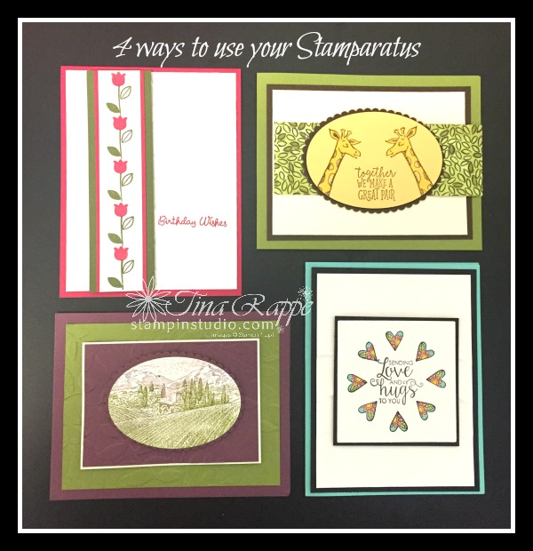 Stampin' Up! Stamparatus Techniques, Stampin' Studio