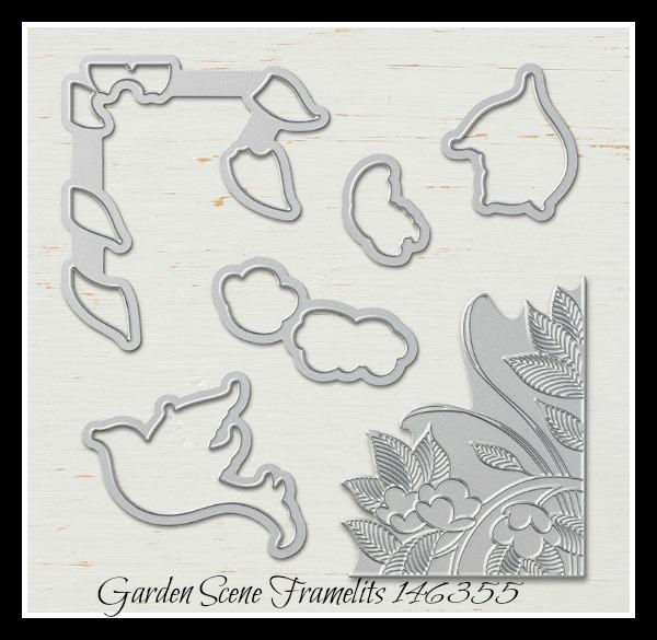 Stampin Up! Garden Scene Framelits, Stampin' Studio