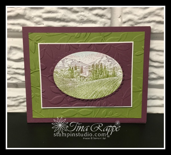 Stampin' Up! Tuscan Vineyard stamp set, Stampin' Studio