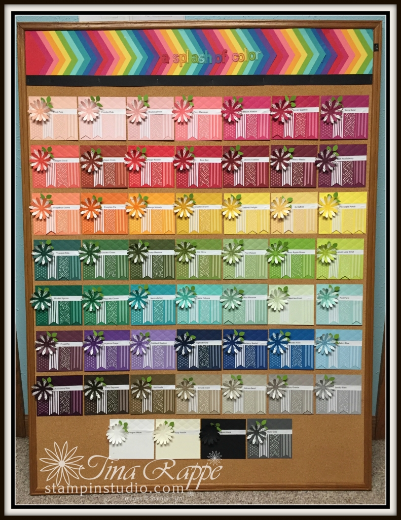 Stampin' Up! Color Spectrum Board, Stampin' Studio