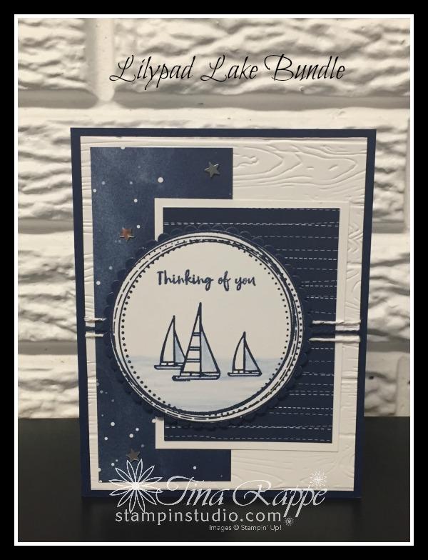 Stampin' Up!, Lilypad Lake stamp set,