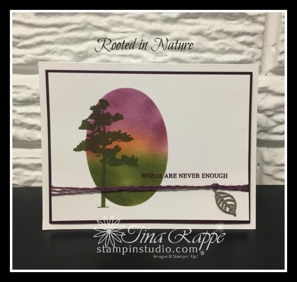 Stampin' Up! Rooted in Nature stamp set, Stampin' Studio