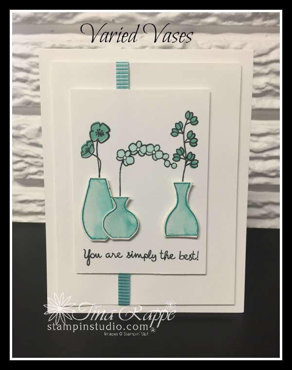 Stampin' Up! Varied Vases Bundle, Varied Vases stamp set, Vases Builder Punch, Stampin' Studio