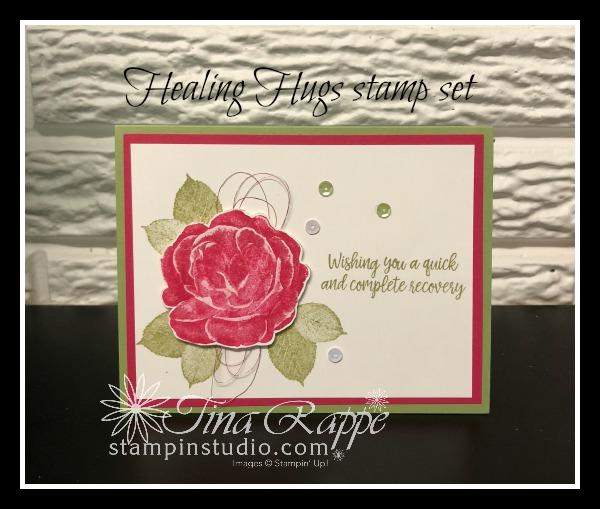 Stampin' Up! Healing Hugs stamp set, Stampin' Studio
