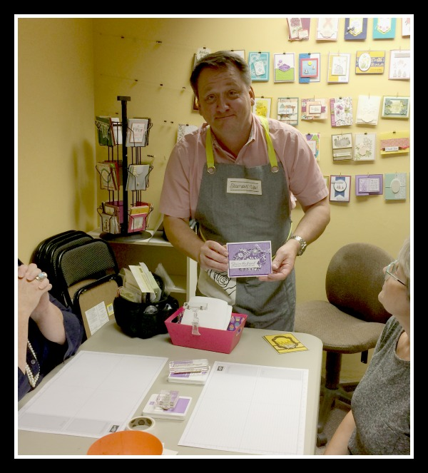 Stampin' Up! 2nd Annual Stampin With Dave Event, Stampin' Studio