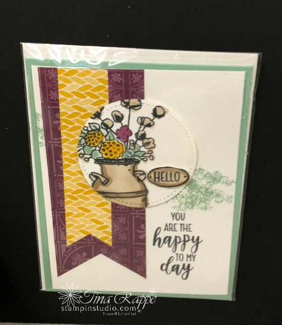 Stampin' Up! Country Lane Suite, Stampin' Sisters Holiday Hoopla, Stampin' Studio