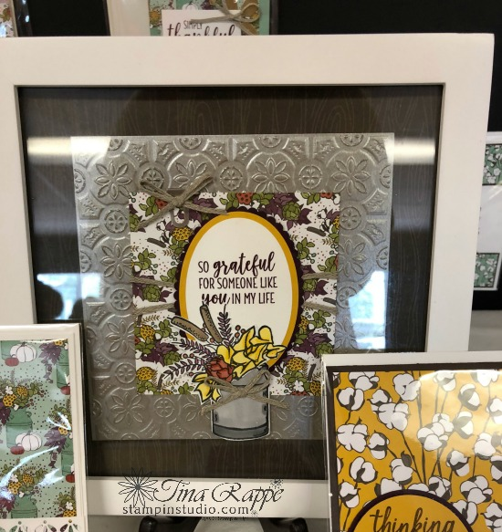 Stampin' Up! Country Lane Suite, Framed Art, Stampin' Sisters Holiday Hoopla, Stampin' Studio