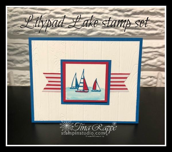 Stampin' Up! Lilypad Lake stamp set, Stampin' Studio